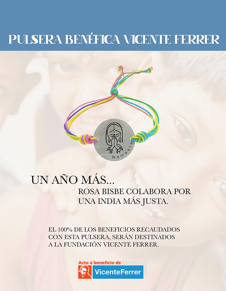 Pulsera Solidaria Fundación Vicente Ferrer